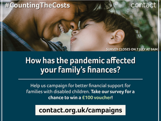 TAKE THE FAMILY FINANCES SURVEY AND WIN A £100 VOUCHER!!