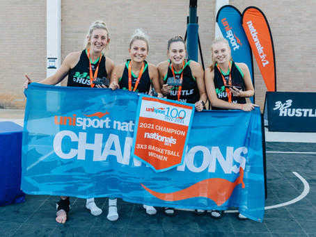 Nationals 3x3 titles secured by Monash University and University of Technology Sydney