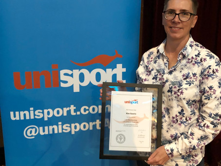 Dr. Deidre Anderson and Ms Kim Guerin inducted as UniSport life members