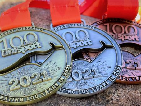 Official Medal Design unveiled for 2021 UniSport Nationals