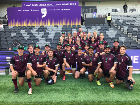 University of Newcastle clean sweep inaugural University Rugby League 9's