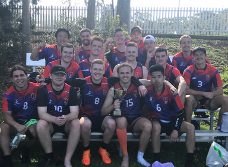 University of Wollongong take out intervarsity Oztag Championship