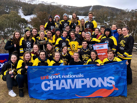UNSW win the 4-peat at 2019 Nationals Snow