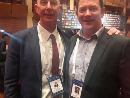 UniSport Australia representatives elected to internationals positions at the FISU General Assembly