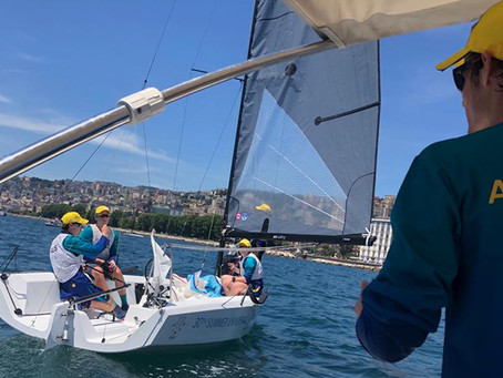 Rough day on the water for the UniRoos