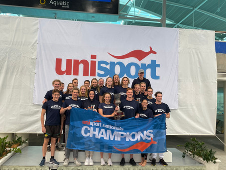 QUT and Griffith University crowned UniSport Nationals Swimming champions as records tumble