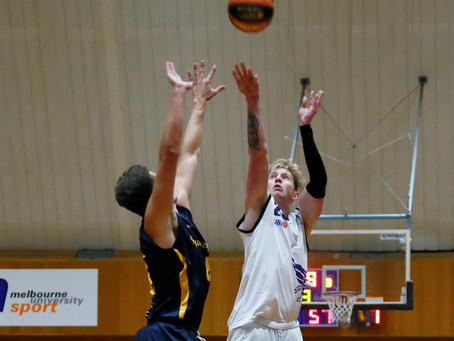 Matt Roseby brings his US college experience to the UBL as a first year student at Melbourne Uni