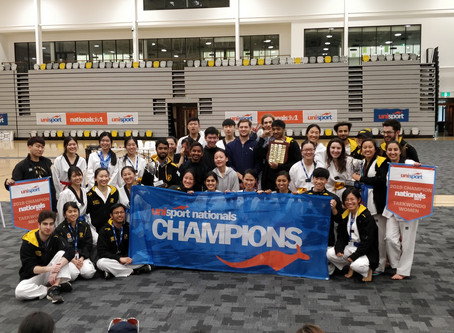 UNSW sweep the floor at Nationals Taekwondo