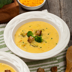 Spicy Broccoli & Cheddar