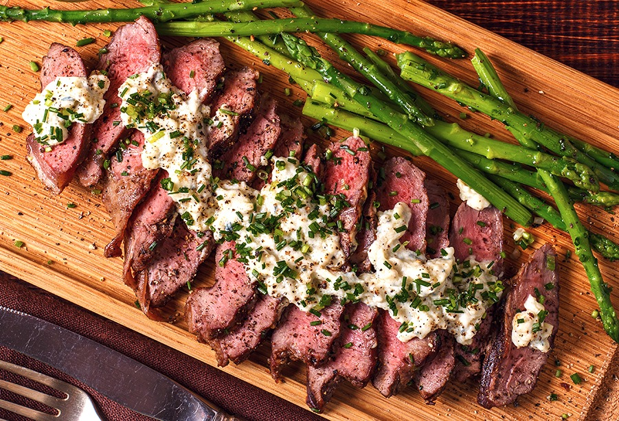 Bleu Peppercorn Skirt Steak