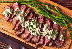 Bleu Peppercorn Skirt Steak