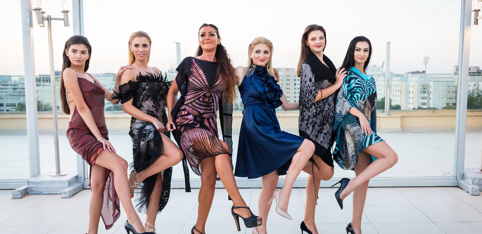 Interviu cu prezentare  de modă la TVR2