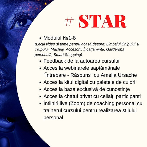 Curs de Imagine si Stil Personal STAR