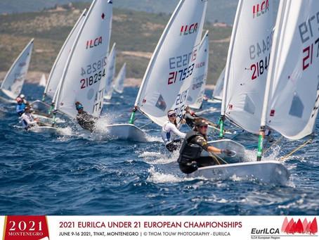European Championship Laser Radial u21 Tivat, Montenegro
