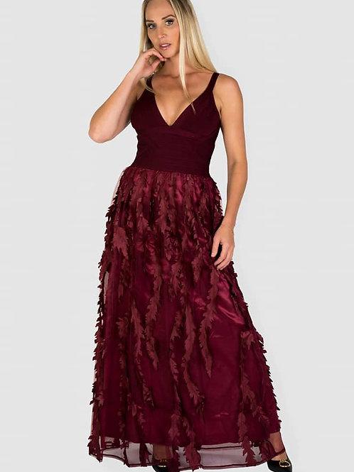 Lidi Dress burgunder