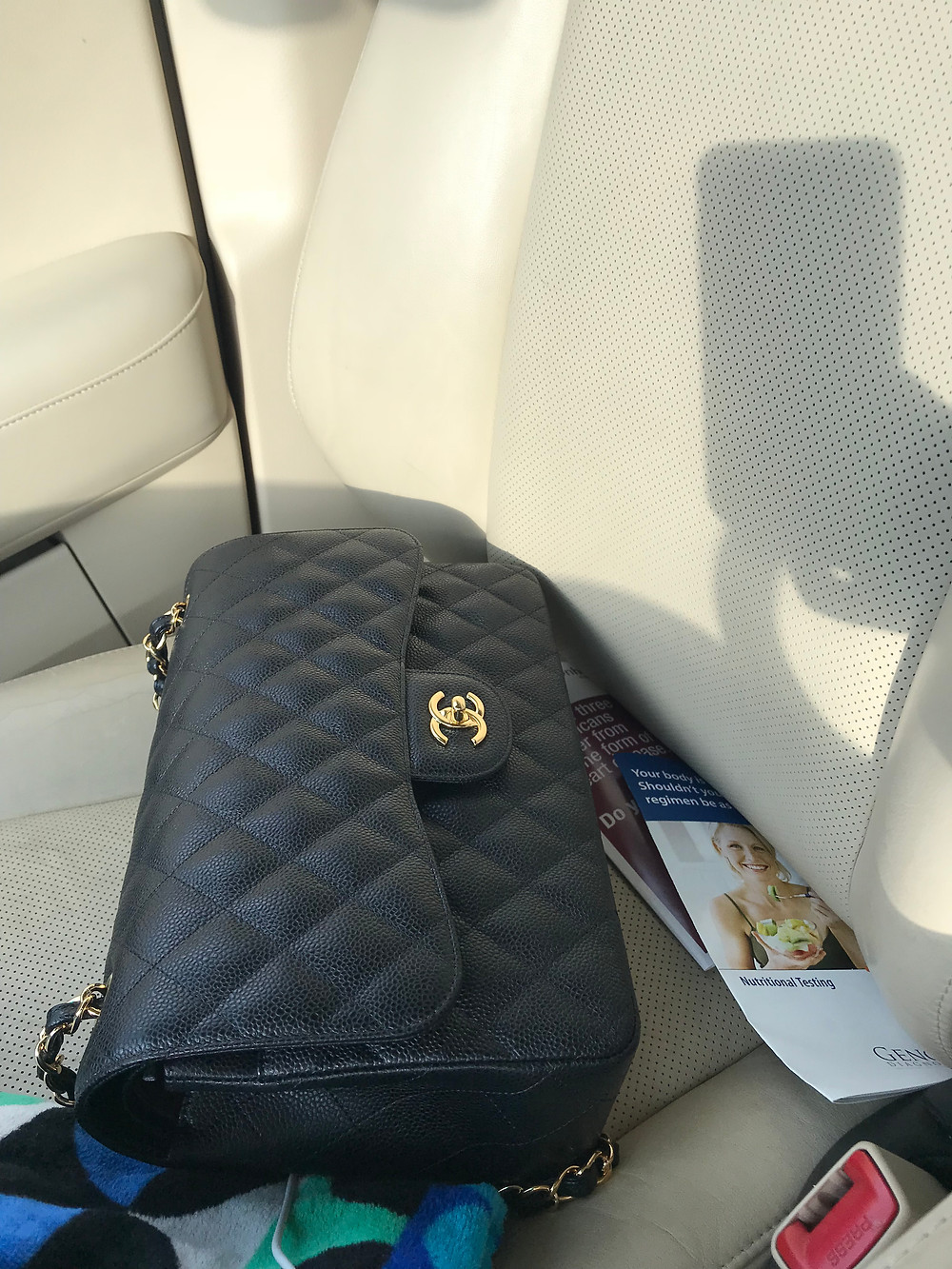CHANEL, CHANEL JUMBO DOUBLE FLAP, CHANEL CAVIAR