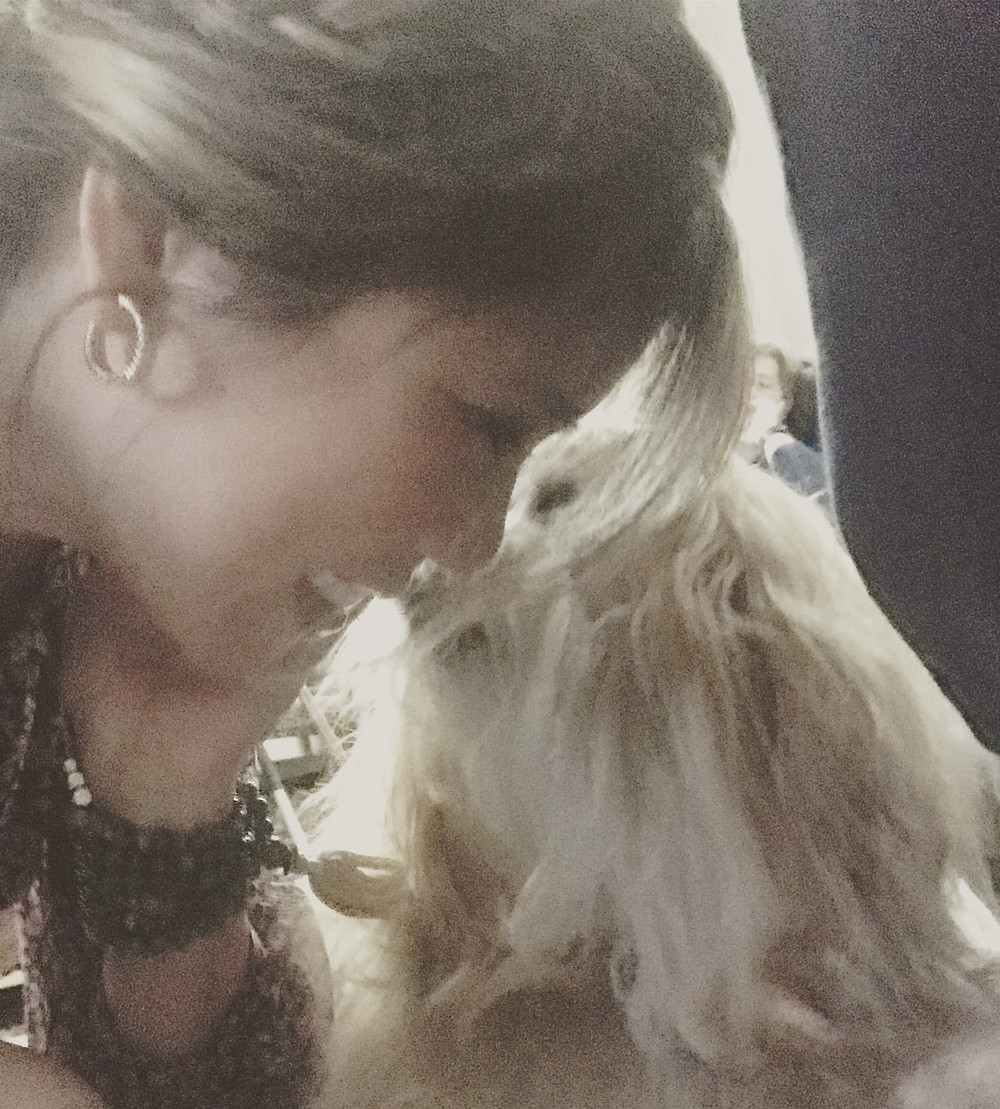 LHASA APSO, PUPPY KISSES