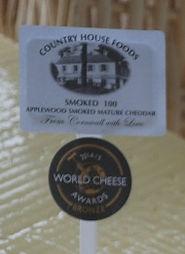 Award winning Smoked 100 Cornish Cheddar