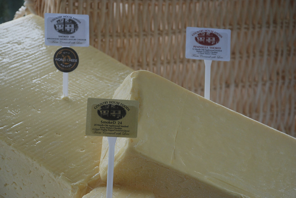Smoked Cornish Cheddar from Country House Foods