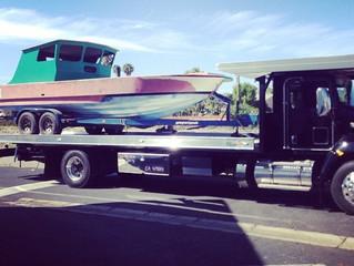 Auto Body Towing Simi Valley to Santa Barbara! Call Now: 805-522-2222