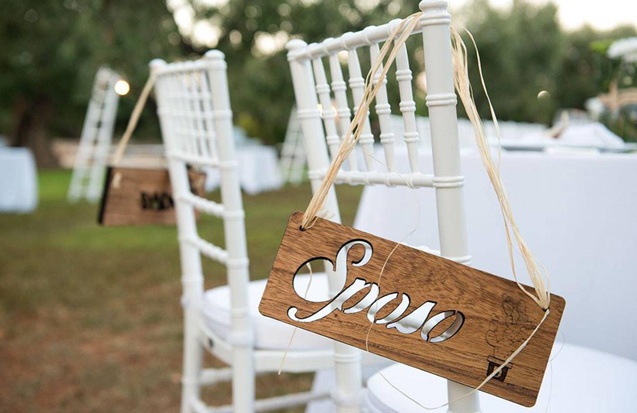 Targhe Sposi e Cerimonie