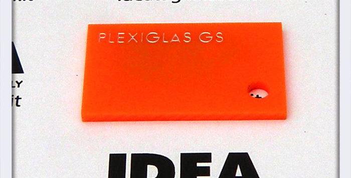 Plexiglas Arancione 3mm