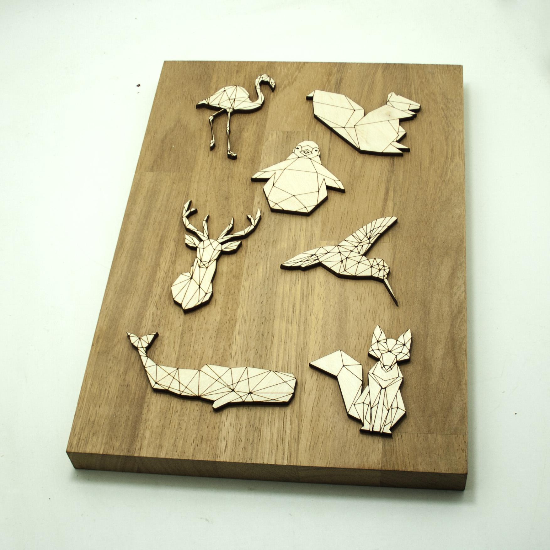 Sagomine in legno