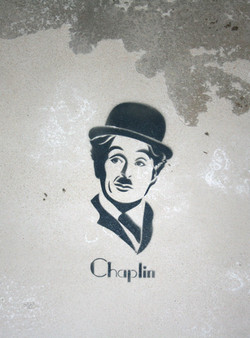 Stencil con spray