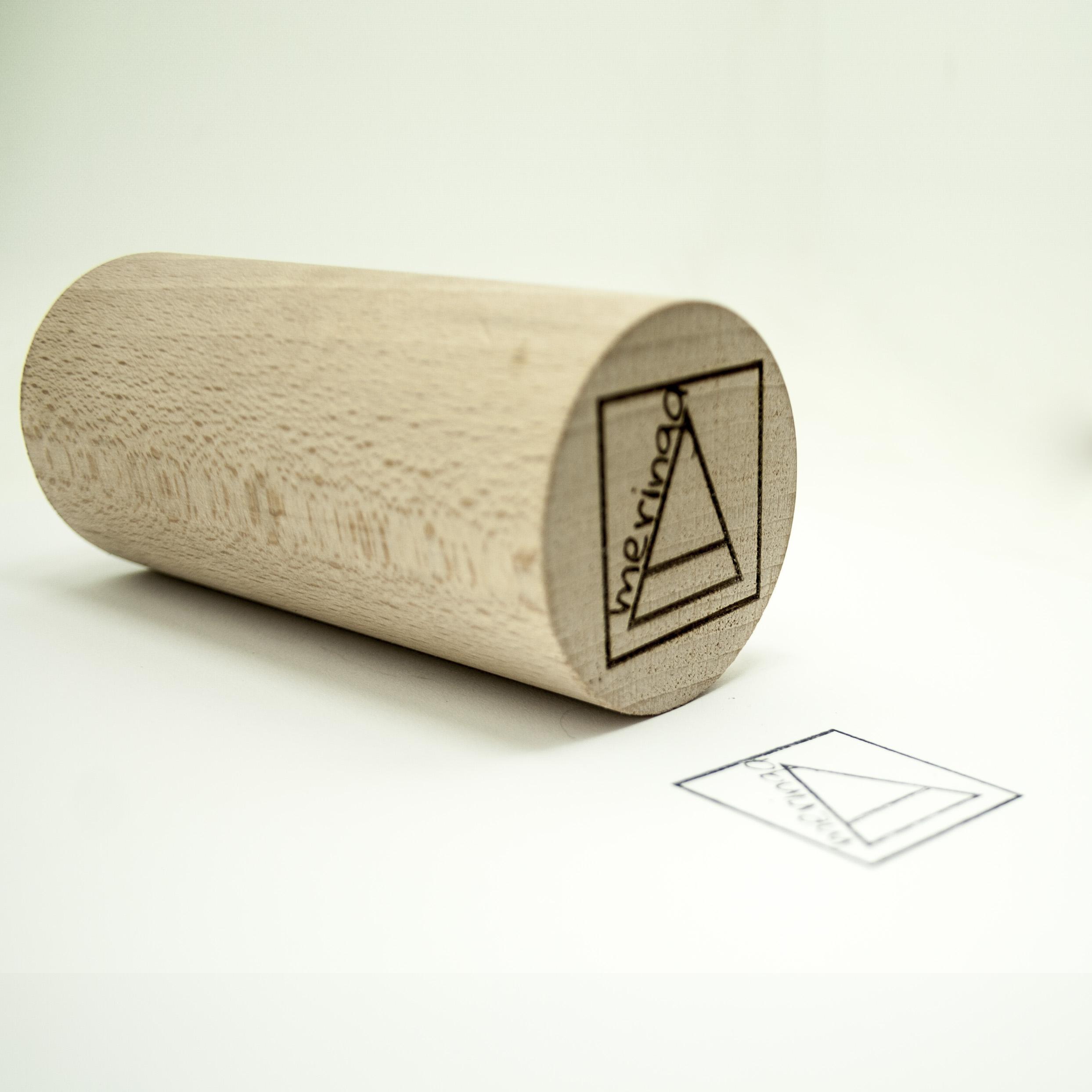 Timbro in legno