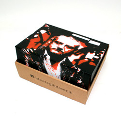 Stencil su scatola