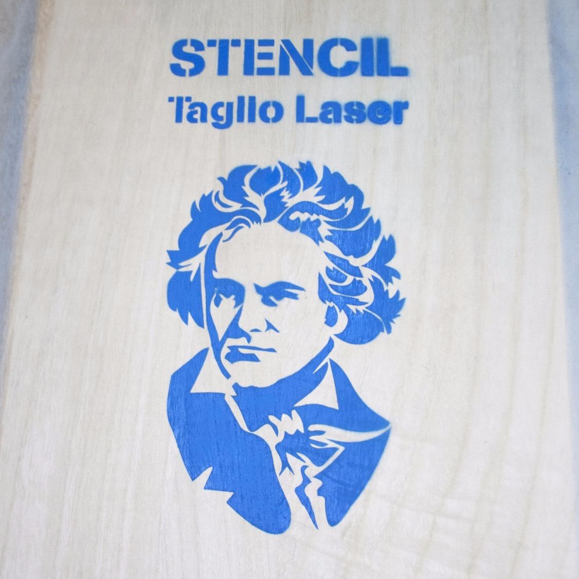 Stencil su legno