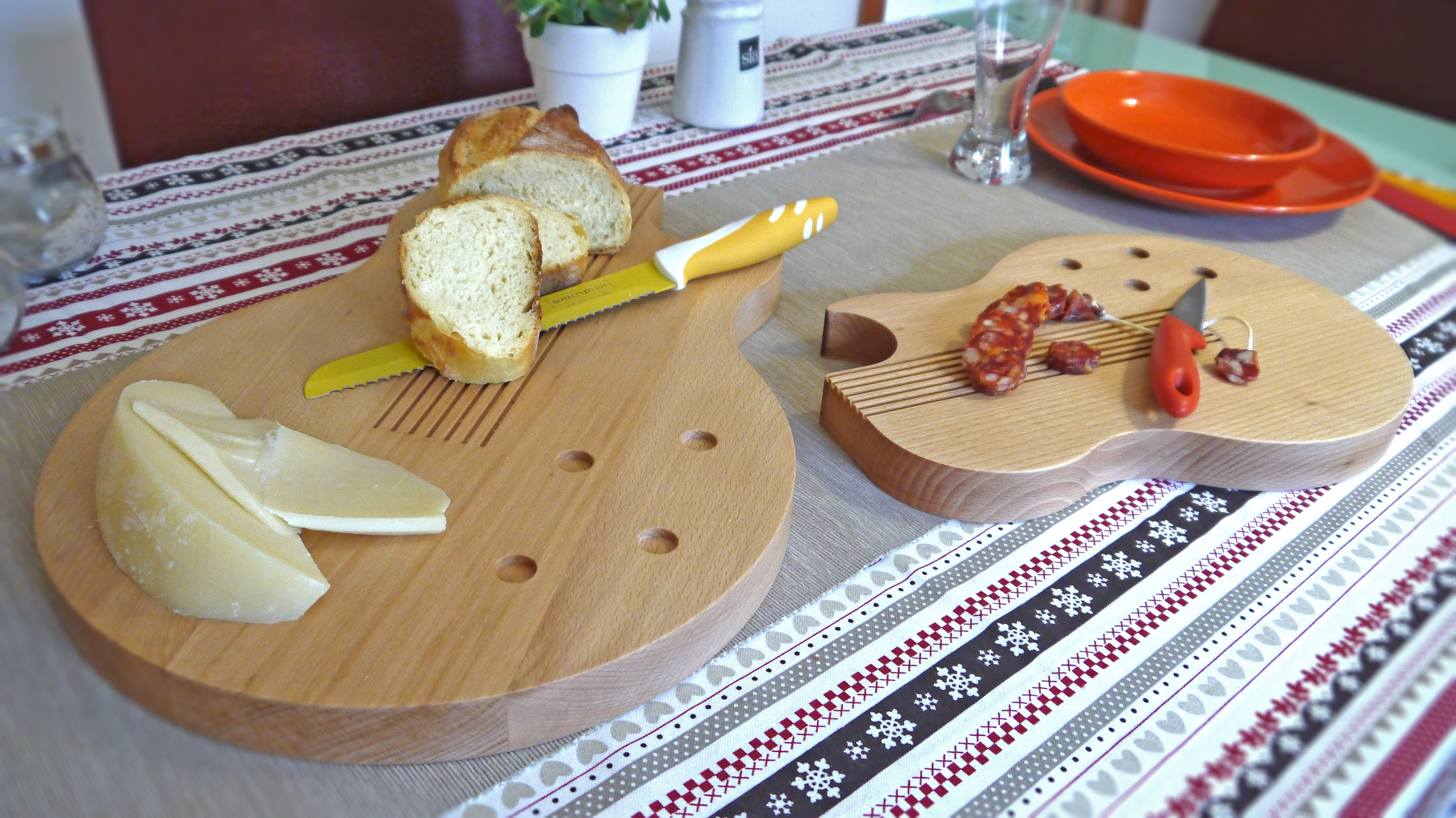 Taglieri in legno massello
