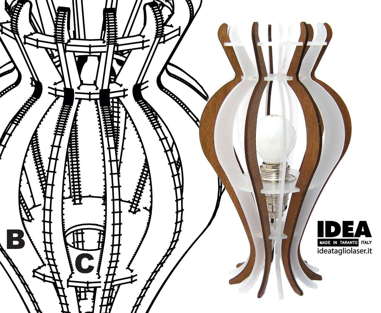 ideatagliolaser capasone lampada