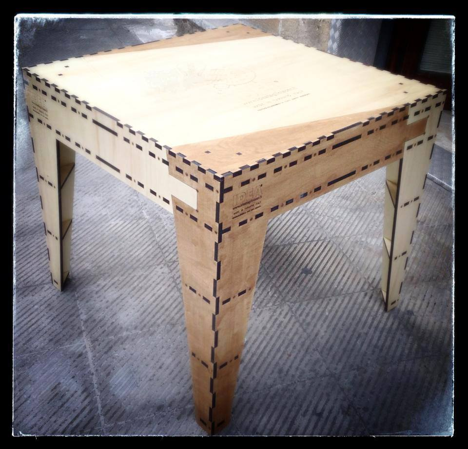 ideatagliolaser tavolo