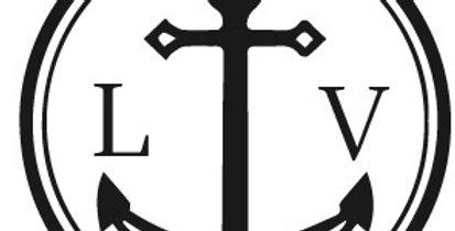 Timbro Monogramma con Ancora marinaresca
