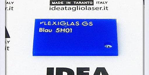 Plexiglas Blu 3mm