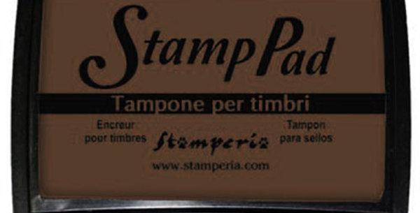 Tampone marrone per Timbri Stamperia