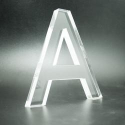 Lettere in plexiglas