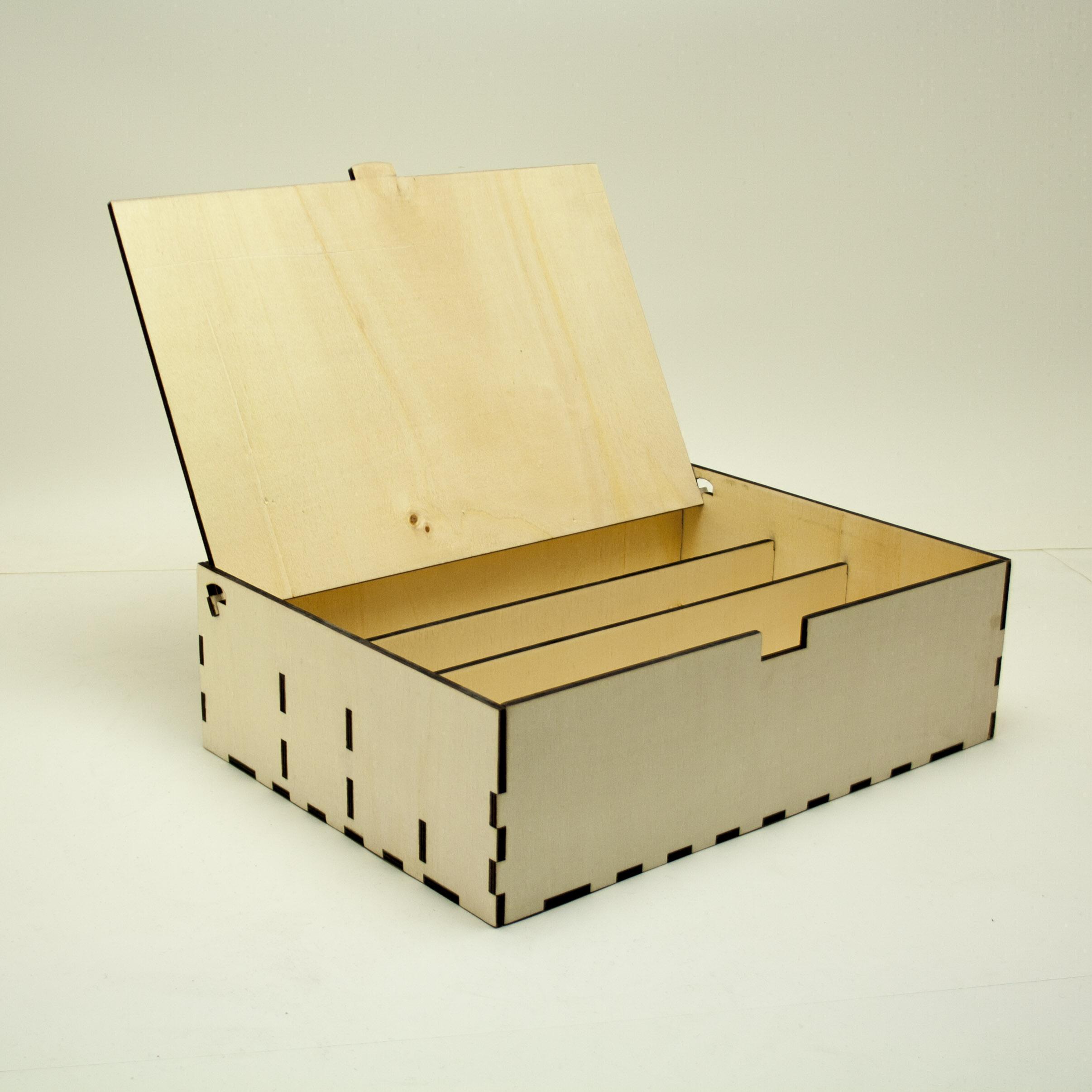 Legno Online Su Misura scatole in legno e plexiglas | ideatagliolaser
