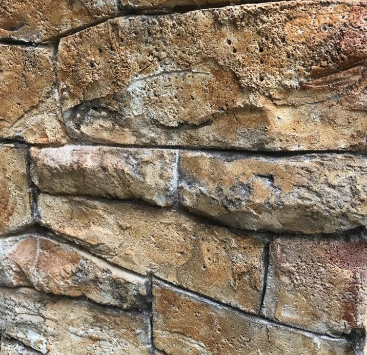 モルタル造形・壁