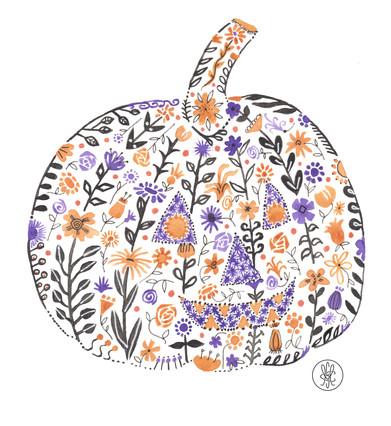 Jack - Watercolor print on Etsy.com
