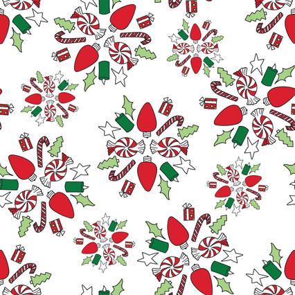 Candy Mandalas pattern - Spoonflower.com