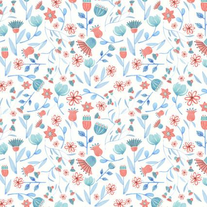 BG Blossoms pattern - Spoonflower.com