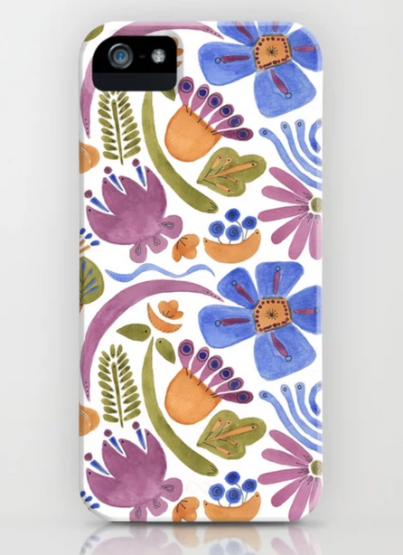 Beach Blanket pattern - iPhone case on Society6.com
