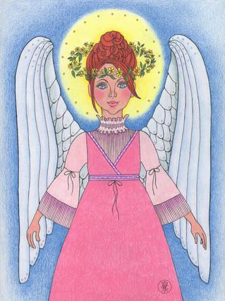 Archangel Ariel print on Etsy.com