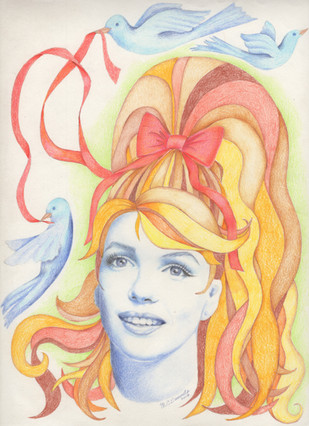 Marilyn in Wonderland - see my blog for full description