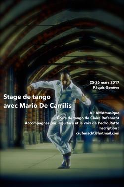 flyer photo fcb Mario de Camilis 2017
