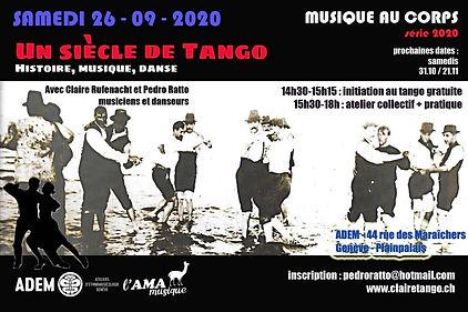 flyer 26-09-2020 histoire musique danse.