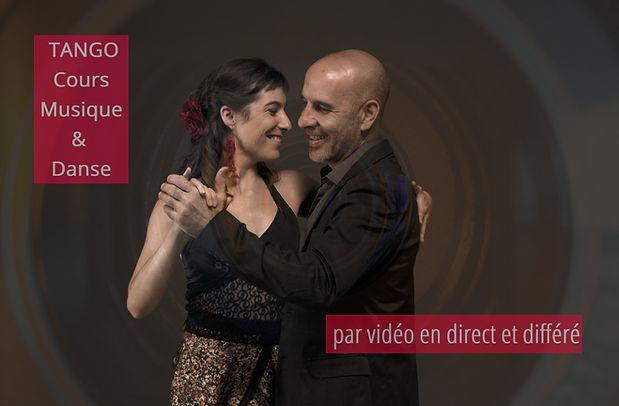 cours de tango par vidéo