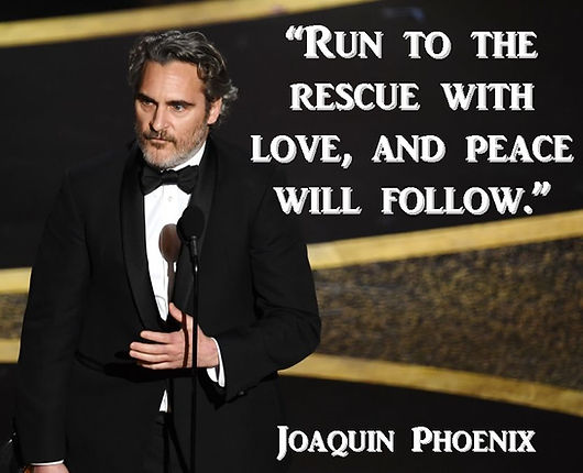 Joaquin Phoenix Vegan